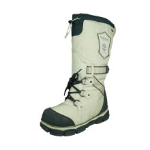 Timberland Earthkeepers Stratton Womens Snow Boots Faux Fur Lined - Off White