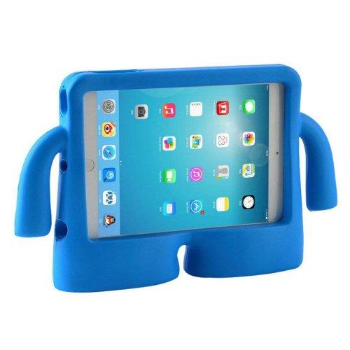 "(For iPad Air/Air 2/Pro 9.7"", Blue) Children's Rubber EVA Foam iPad Cover & Stand"