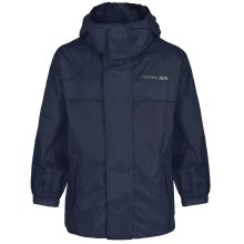 Trespass Packa Jacket, Navy Blue, 3/4, Packaway Jacket for Kids / Boys, Age 3-4, Blue