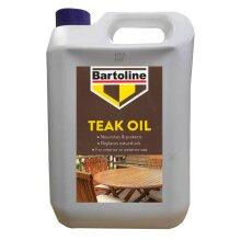 Bartoline Teak Oil 5 Litre