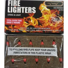 240 FIRE LIGHTERS (20 PCS X 12 PACKS) GSD MATCHES FLAME CUBES 2 HOURS BURN OUTDOOR CAMPING QUICK BBQ
