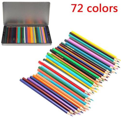 72 Colour Pencils Drawing Pack Quality Colour Pencils Artist Art Pencils UK