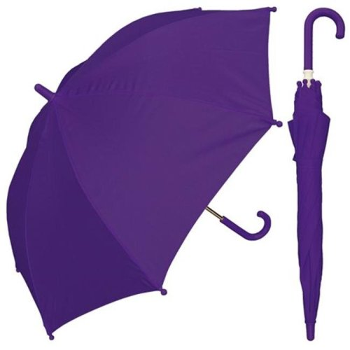 RainStoppers W101CHMIX 32 in. Childrens Assorted Solid Color Umbrellas, 4 Piece