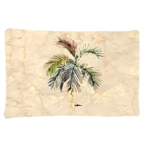 20.5 x 30 in. Palm Tree Moisture Wicking Fabric Standard Pillow Case
