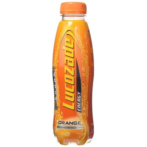 Lucozade Orange Energy Drink 380 ml (Pack of 24)