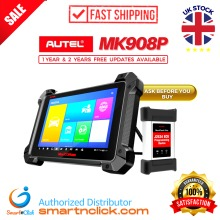 Autel MK908P Diagnostic Scanner Bidirectional Full System Coding J2534