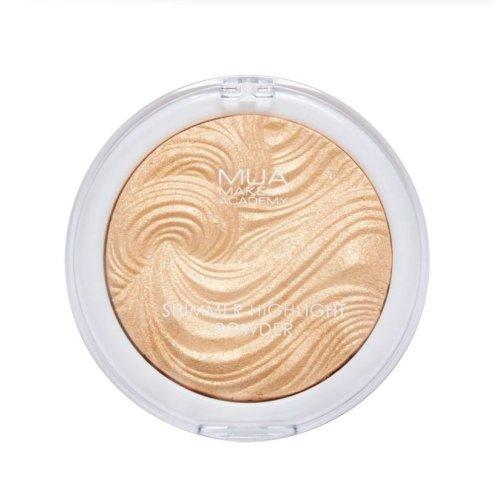 (Golden Scintillation) MUA Undress Your Skin/Shimmer Highlight Powder