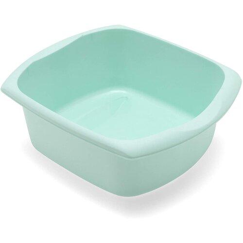 Addis Washing Up Bowl Blue Hard Wearing Wipe Clean Rectangular 9.5 Litres