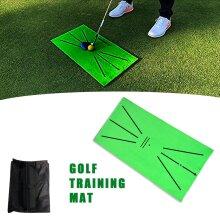 Golf Training Mat Golf Swing Detection Hitting Mat for Mini Golf Practice Training Aid Mat