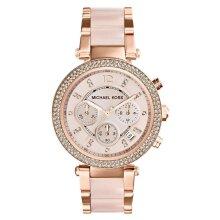 Michael Kors MK5896 Women's Parker Watch With Swarovski Crystals