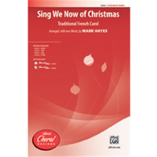 Alfred 00-41819 SING WE NOW OF CHRISTMAS-STRX CD
