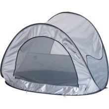 DERYAN Mosquito Pop-up Beach Tent Silver Heavy Duty Toddler Children Camping
