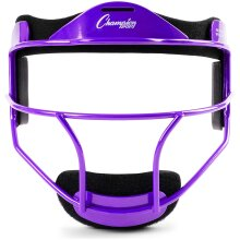Champion Sports Softball Face Mask - Durable Fielder Head Guards - Premium Sports Accessories for Indoors and Outdoors