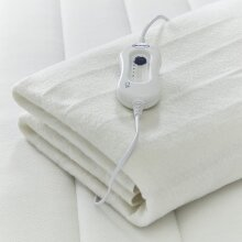 Double Electric Blanket With Heat Control Machine Washable