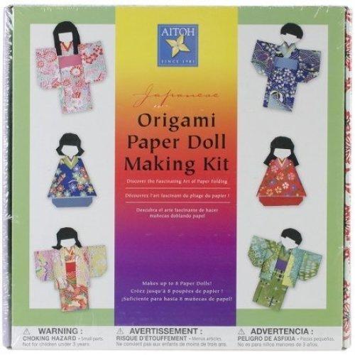 Japanese Origami Paper Doll Making Kit-