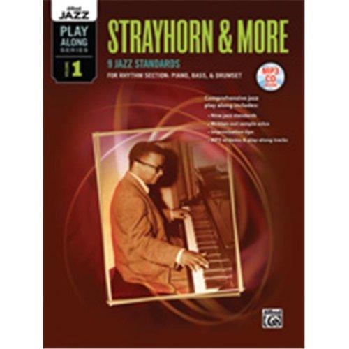 Alfred 00-38722 STRAYHORN & MORE 1 RHYTHM-BK&CD