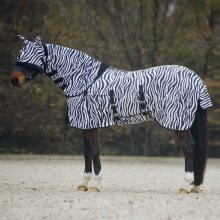 Zebra Combo Neck Fly Rug
