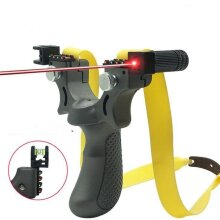 Aiming Slingshot With Flat Rubber Band Slingshot For Outdoor Game, Hunting, Shooting