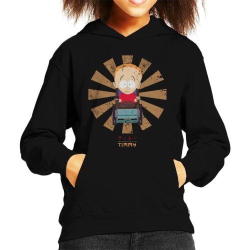 Timmy Retro Japanese South Park Kid's Hooded Sweatshirt