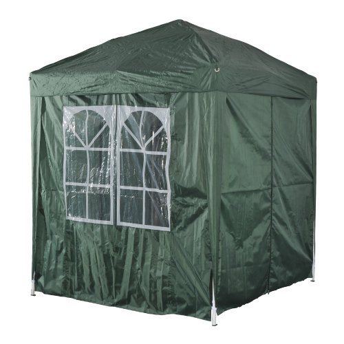 Outsunny 2 x 2m Pop-Up Garden Gazebo | Heavy Duty Wedding Party Tent