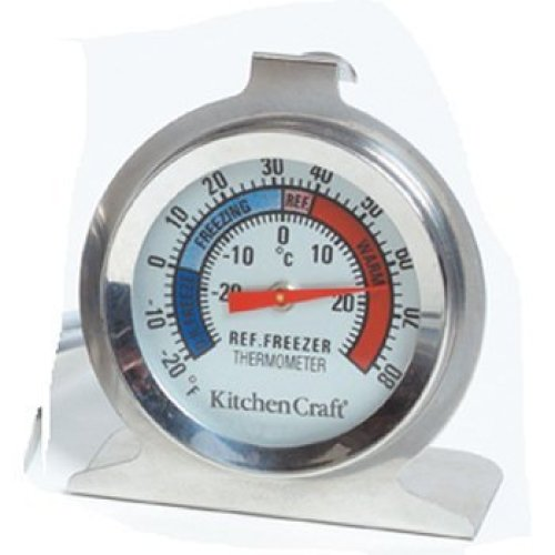 KitchenCraft Dial-Type Freezer   Fridge Thermometer