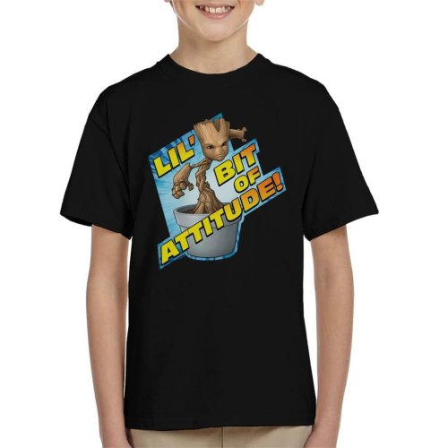 Marvel Guardians Of The Galaxy Groot Attitude Kid's T-Shirt