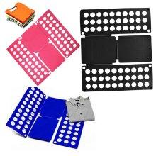 Clothes Folding Board T-Shirt Laundry Organiser Easy Flip Fold Drawer Packer