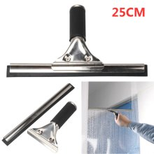 New Professional Window Squeegee Stainless Steel Wiper with blade 25cm