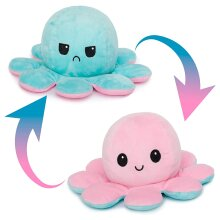 Octopus Soft Toys, Double-Sided Flip Octopus Plush Toys, Halloween Mini Octopus Stuffed Animals Doll Creative Toy Gifts