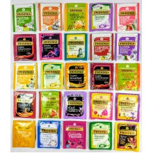 Twinings Variety Selection Pack 25 Flavours. 30 Foil wrapped Tea Bags