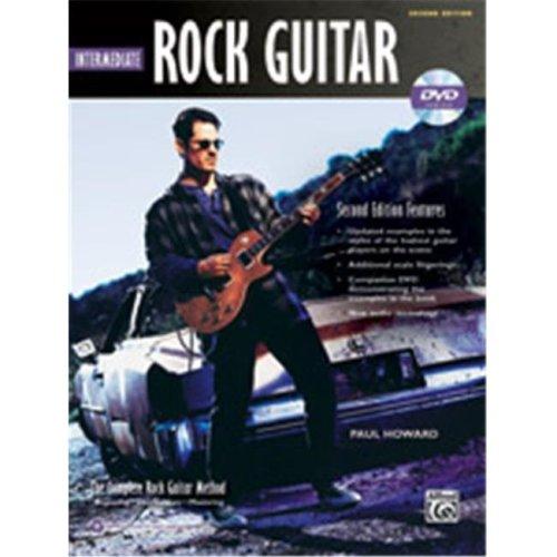 Alfred 00-39329 ROCK INTERM GTR 2ND ED-BK&DVD