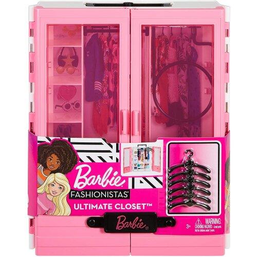 Barbie GBK11 Fashionistas Ultimate Closet   Portable Doll Wardrobe