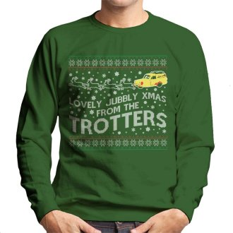 Lovely Jubbly Only Fools And Horses Christmas Knit Pattern Men's Sweatshirt