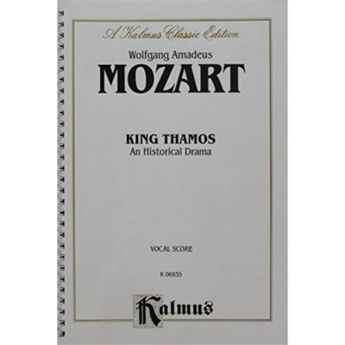 Alfred 00-K06935 MOZART KING THAMOS VS