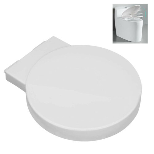 Round Quick Release & Soft Closing Toilet Seat Ideal Standard Space