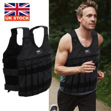 Weighed Vest Adjustable Running Loss Training Exercise Fitness 20kg
