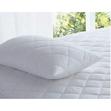 Polyotton Quilted Waterproof Pillow Protectors Standard Size Pair