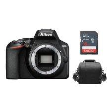 NIKON D3500 Body Black + Camera Bag + 16GB SD card