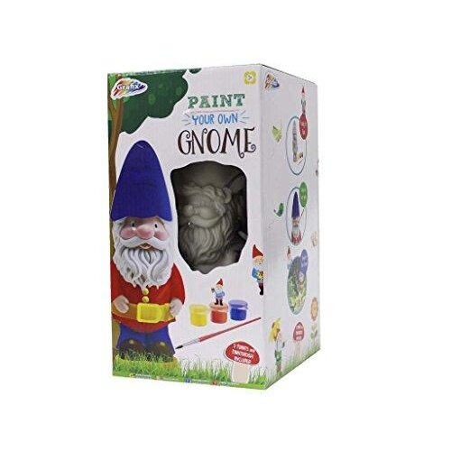 RMS International Paint Your Own Garden Gnome