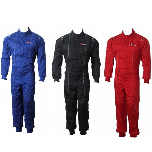 Adult Karting Go Kart Race Rally suit Poly cotton One Piece Overall NEW