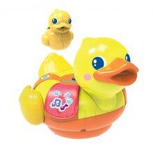 Water fun Duck yellow junior 13,5 x 17, 5 x 16,5 cm