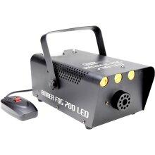 Eliminator Lighting Amber Fog 700 LED 700W Fog Machine with Amber LEDs