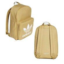 Adidas Originals Classics Trefoil Backpack Unisex Bag Beige DW5186