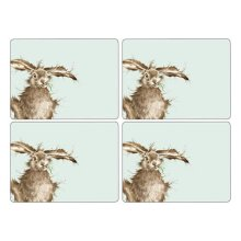 Wrendale Hare Placemats - Set of 4 (Large)