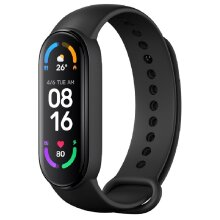 Xiaomi Mi Smart Band 6 Waterproof Smart Wristband Watch - Black (Global Ver.)