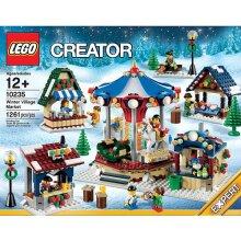 block Creator Expert Winter Village Market
