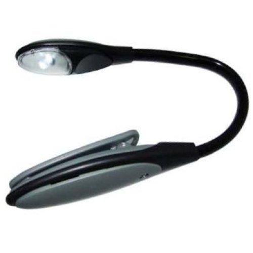Flexible & Adjustable LED Clip Light -  light led flexible clip book amtech reading lamp bright torch kindle s1526
