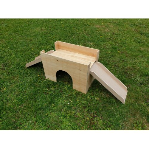 LARGE Rabbit Guinea Pig Castle Hideout Shelter playhouse small animal