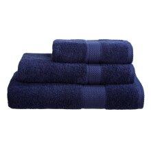 Navy Blue 100% Egyptian Cotton Towel 500 Gsm