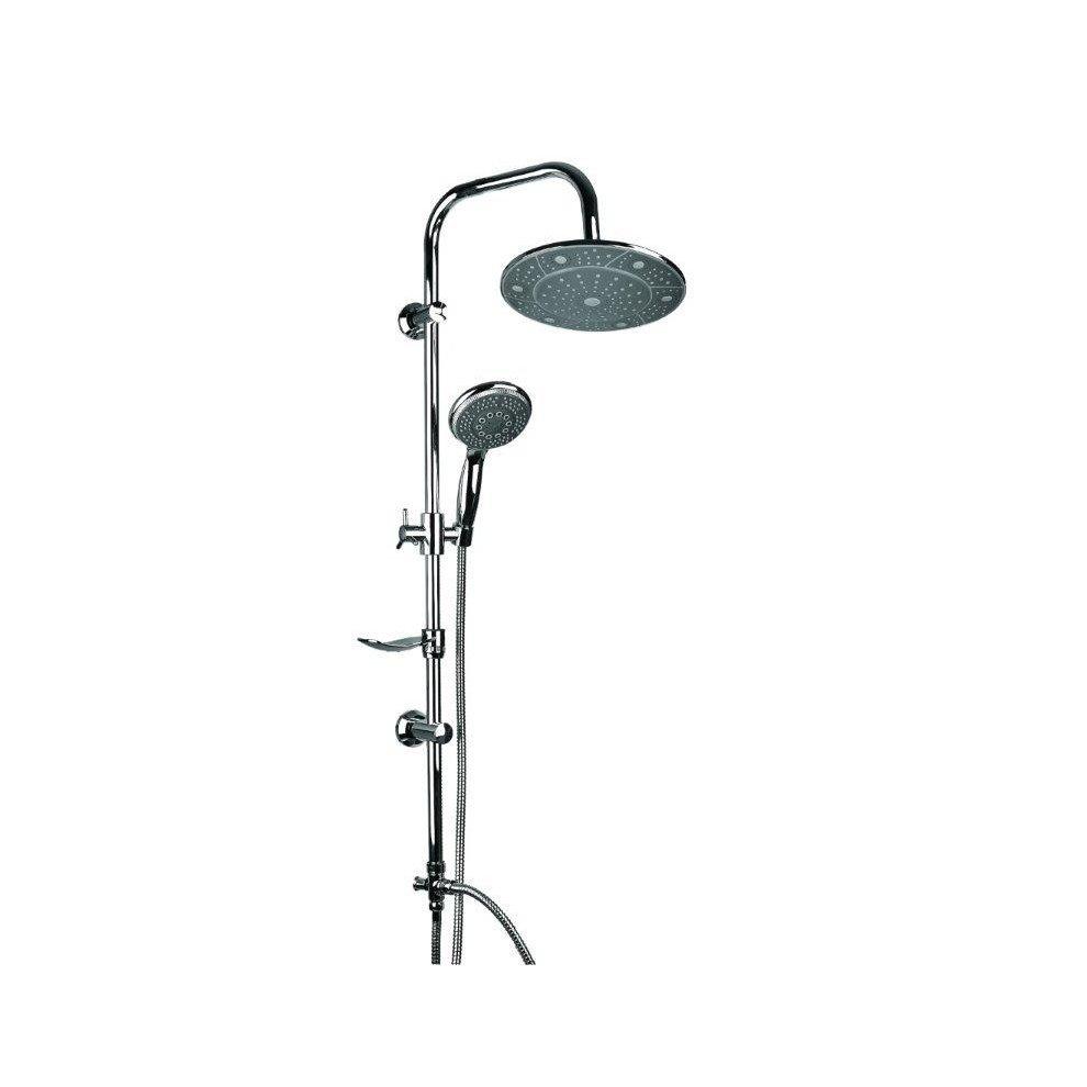 Exposed Bathroom Mixer Shower Rain Pole